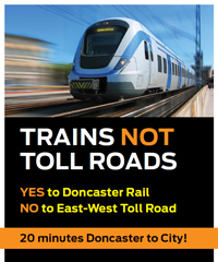Trains Not Tolls Campaign